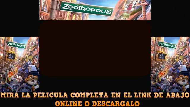 Zootrópolis PELICULA EN ESPAÑOL ONLINE Y DESCARGA HD