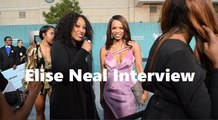 HHV Exclusive: Elise Neal talks #TalesOnBET, producing behind the scenes, fitness, and more at the #SoulTrainAwards