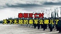秦朝灭亡时,天下无敌的秦军去哪了?