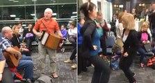 Newfoundland flight passengers turn delayed flight into huge sing-a-long At Toronto airport
