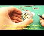 How to repair  fix broken led light [bulb]