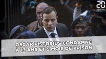 Oscar Pistorius condamné en appel à 13 ans et 5 mois de prison