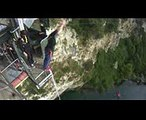 Jumping my Bungy 47 metres - Taupo (NZ)