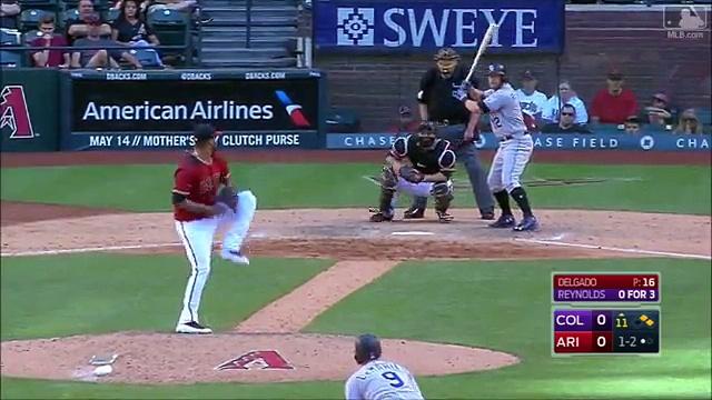 MLB Chris Owings Defensive Highlights 2017