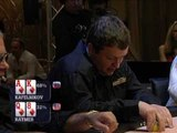 Greg Raymer fossilMan PokerStars Pro -- EPT 1   Kafelnikov plays strong vs Raymer