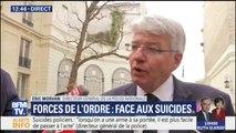 """Suicides dans la police : """"Nous avons de grands progrès à faire"""" estime la DGPN"""