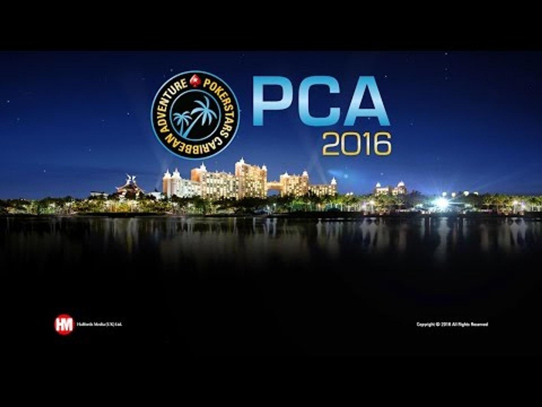 Живой покерный турнир PCA 2016 - Главное Событие, день 3
