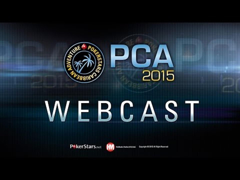 Живой покерный турнир PCA 2015 - супертурнир хай-роллеров PCA, день 2
