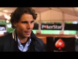 RAFA NADAL PLAYS AN ACE WITH 100 FANS IN PARIS