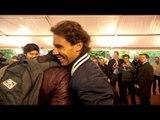 Rafa Nadal se enfrenta a mas de 100 fans en París