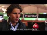 "Rafa Nadal serve un ""ace"" ai suoi fan a Parigi"