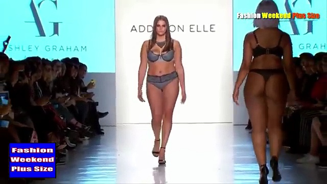 Fashion Weekend Plus Size 2017 _ Large Size Women - New Collection Walks In (Bikinis). http://bit.ly/2Xc4EMY