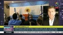 Argentina: indigna inacción de Armada ante desaparición de submarino