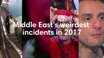 Middle East's weirdest incidents in 2017