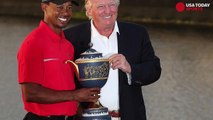 Donald Trump tweets that he will golf with Tiger Woods