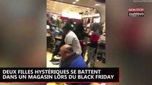 Black Friday : deux femmes hystériques se battent violemment dans un magasin (vidéo)