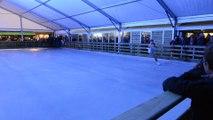 Inauguration patinoire Huy 2017