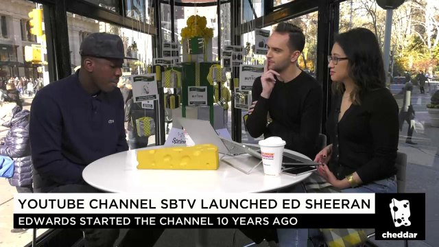 SBTV CEO on Launching Ed Sheeran