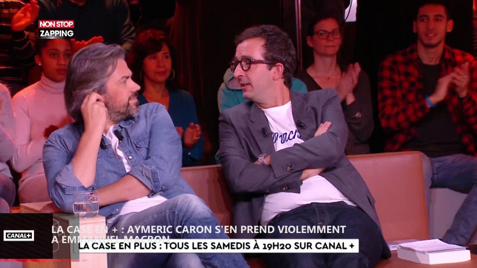 Aymeric Caron s'en prend violemment à Emmanuel Macron dans