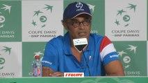 Tennis - Coupe Davis : Noah «L'ambiance que l'on attendait...»