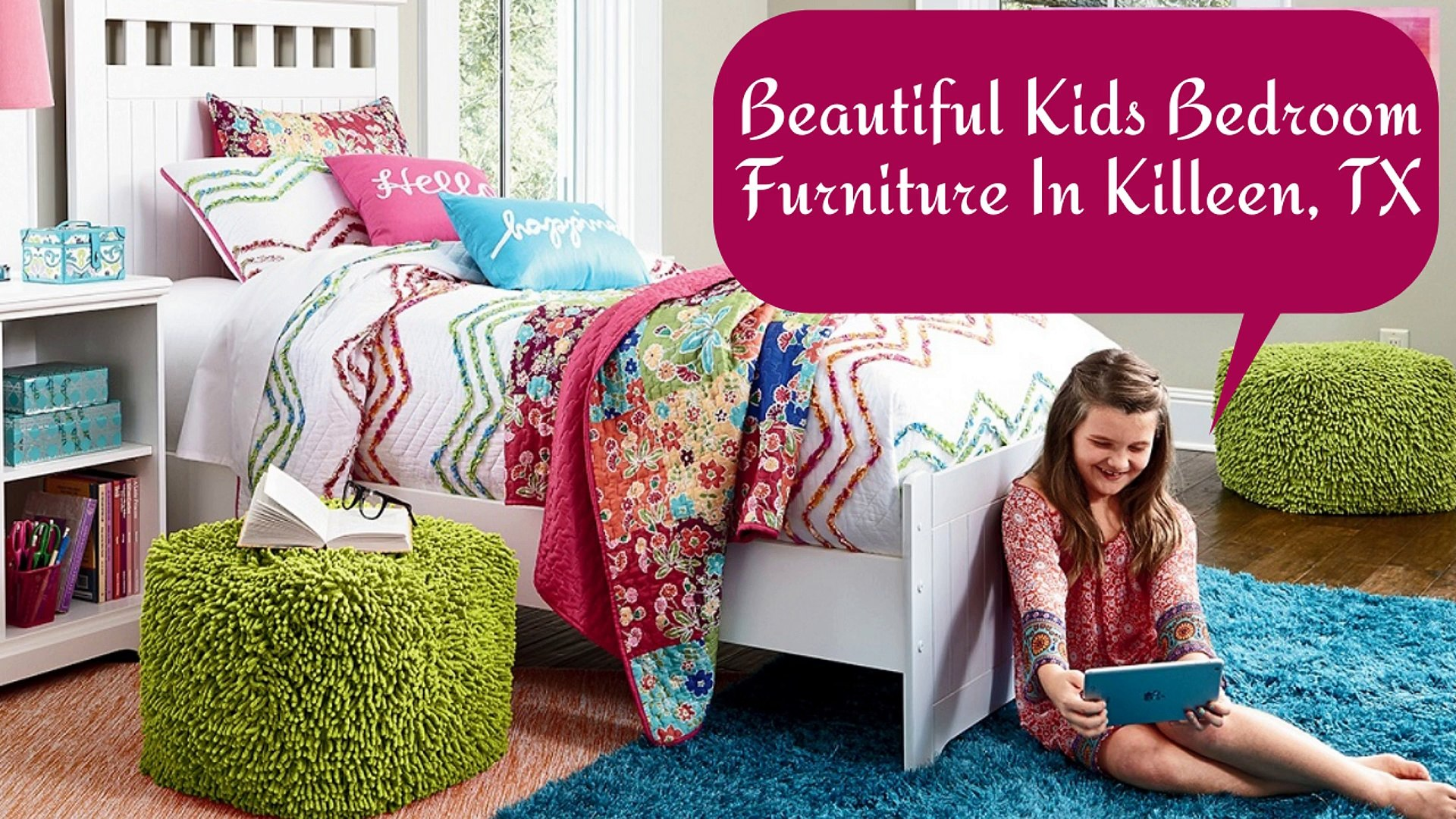 Picture of: Beautiful Kids Bedroom Furniture In Killeen Tx Video Dailymotion