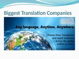 World Biggest French Language Translation Services in Myanmar