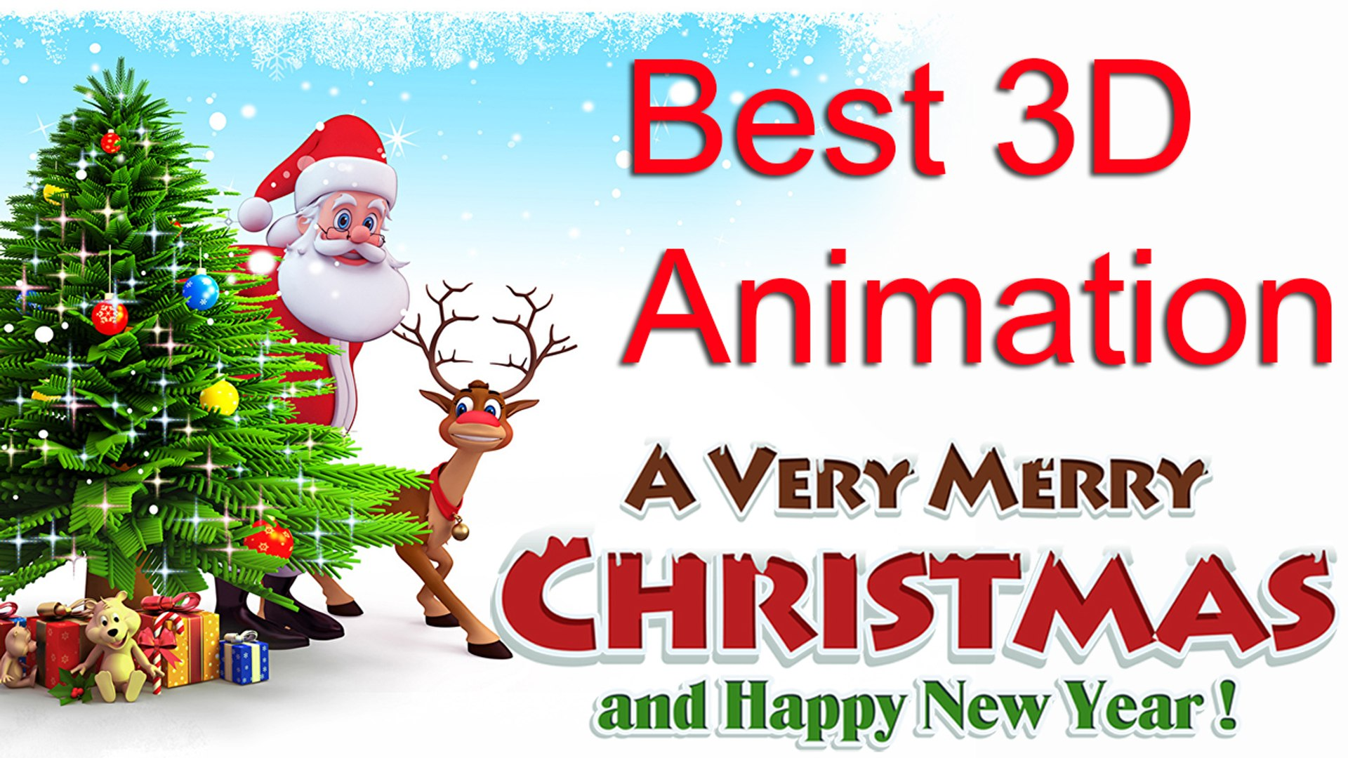 merry christmas song 3d animated santa claus video dailymotion merry christmas song 3d animated santa claus