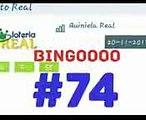 RESULTADO DE LA LOTERÍA REAL DE HOY #74 BINGOOOO!!!! SUERTES EN LAS DEMÁS LOTERÍAS BOOM!!!