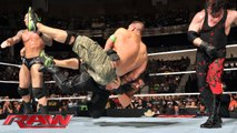 WWE The Rock Saves Roman Reigns From Kane & Big Show In The Royal Rumble Highlights