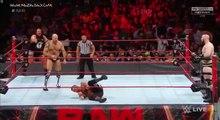 Sheamus & Cesaro vs Rhyno & Heath Slater full Match wwe monday night raw september 4 2017