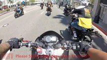 Motorcycle VS Cops Bike Cop Chase Bikers CRASH Running From The Police Chases Stunt Bikes WRECKp