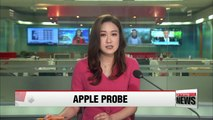 Fair Trade Commission probing Apple's local unit over alleged unfair transactions