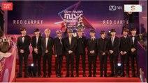 251117 Mnet 아시안 뮤직 어워드 2017 - 워너원 WANNA ONE @ Red Carpet
