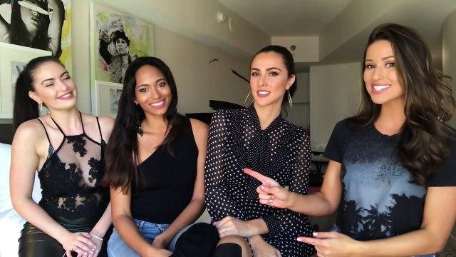 FINAL Miss Universe Predictions! By 4 Miss Universe Former Contestants - Nia Sanchez
