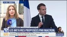 """""""Il n'y a rien eu sur l'égalité salariale"""" dans le discours d'Emmanuel Macron, déplore une féministe"""