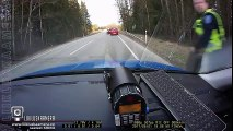 Police Stops Speeder With Nailboard