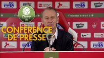 Conférence de presse Stade Brestois 29 - FC Sochaux-Montbéliard (1-0) : Jean-Marc FURLAN (BREST) - Peter ZEIDLER (FCSM) - 2017/2018