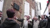 Hugues Aufray a dévoilé une plaque à son nom sur son ancienne maison sorézienne
