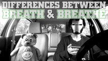 The Differences Between Breath & Breathe : Other Word Differences