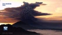 À Bali, ce volcan crache des cendres et perturbe le trafic aérien