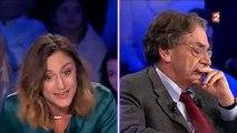 Clash entre la comédienne Camille Chamoux, Yann Moix et Alain Finkielkraut dans ONPC