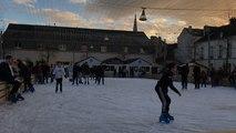 Premières glissades sur la patinoire intercommunale