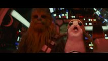 Star Wars Los Últimos Jedi: Chewie golpea a un Porg en un nuevo spot para televisión
