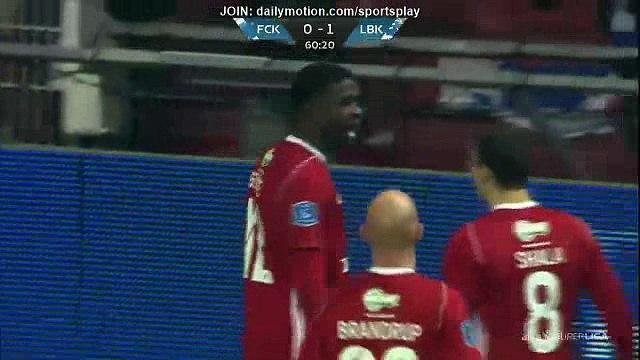 Mayron George Clayton Goal HD - FC Copenhagen 0 - 1 Lyngby - 26.11.2017 (Full Replay)