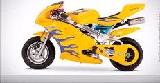 Mini Moto Bull Motors parece uma moto de verdade