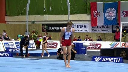 Allan Bower - Floor Exercise - 2017 Cottbus World Cup