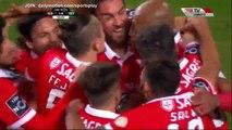 Luisao Goal HD - Benfica 1 - 0 Setubal - 26.11.2017 (Full Replay)