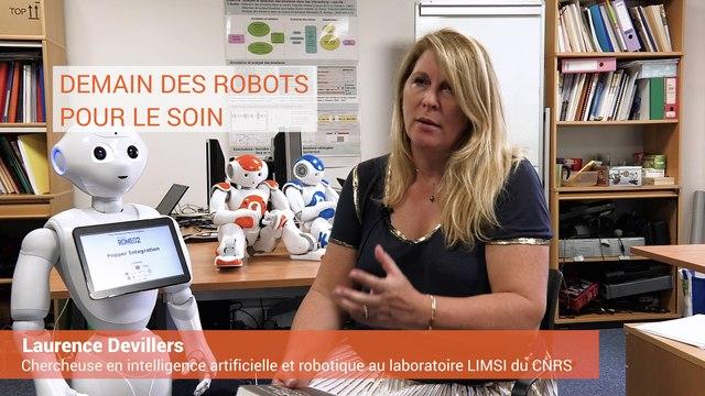 Laurence Devillers - Demain des robots pour le soin