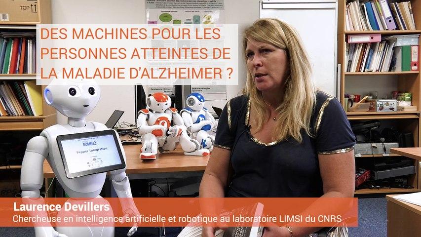 Laurence Devillers - Des machines pour les personnes atteintes de la Maladie d'Alzheimer