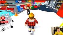 СУПЕРМАРКЕТ затопило в ROBLOX Симулятор квадратного героя как майнкрафт детский летсплей от FFGTV-7LtXqAQ2YmI